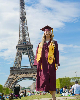 We interrupt Miranda's Instagram takeover in Rio de Janeiro to share this epic photo of recent ASU grad, Caitlyn Gulsvig.  She couldn't come back for graduation, so she made her own ceremony...in front of the Eiffel Tower. NBD. You can study abroad and gr